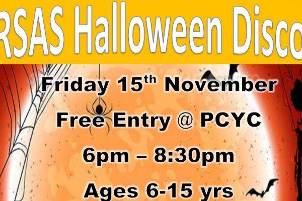 Halloween Disco 6-15yr olds