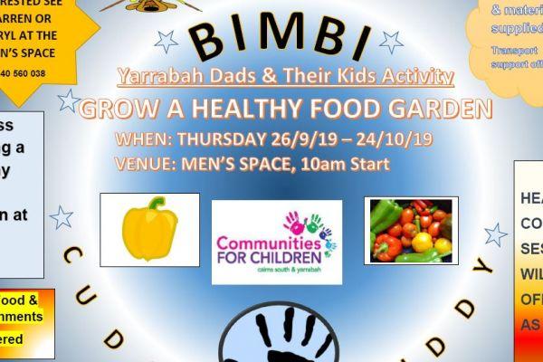 Dads Activity Healthy Food Garden