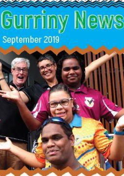 Frontpage of newsletter September 2019